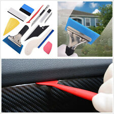 Portable 10 Pcs Automotive Film Window Wrapping Vinyl Wrap Sticker Squeegee Tool