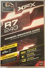 XFX Radeon R7 240 PCIe Graphics 3.0 Video Card 2GB GDDR3 VGA DVI HDMI R7-240A-CL