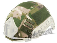 Tactical Military Hunting Helmet Cover for Ops-Core Fast Helmet BJ/PJ/MH CP