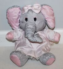 "1987 GIRL Puffalump Elephant Potpourri Press 12"" W/Dress Rare Blankie Plush"