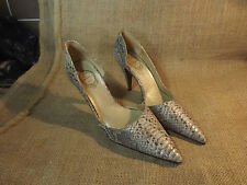 VINTAGE REAL SNAKE SKIN LADIES EU 40 SHOES BY MARIAN SPAIN CLASSIC VAMP LOVE IT