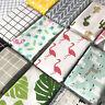 Fashion Geometric Prints Natural Cotton Linen Fabric Cloth Upholstery Craft Yard