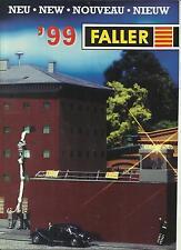 Katalog Faller 1999 Neuheiten Modelleisenbahnen Häuser Gebäude Zubehör HO N