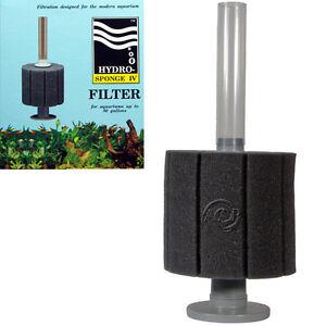Hydro Sponge Aquarium Filter 4, by ATI, AAP; Patented High Capacity Bio-Filter
