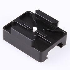 Black 20mm Gun Rail Mount Aluminum Weaver For GoPro Hero 2 3 3+ 4 Camera Airsoft