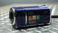 JVC Everio GZ-HM30AU HD High Definition Digital Camcorder - Blue - WORKS GREAT!