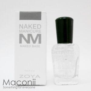 Zoya Naked Manicure Naked Base - Coat Nail Polish Improves Flexibility Strength