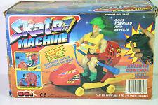 Vintage Galaxy Warrior Skate Machine Flashing Light and Sound Sungold '80s MOTU