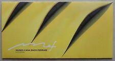Museo Casa Enzo Ferrari 2012 Modena Folder V1 Faltblatt Brochure Prospekt press