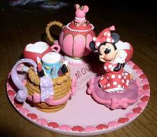 Disney Minnie Mouse Miniature Tea Set In Original box
