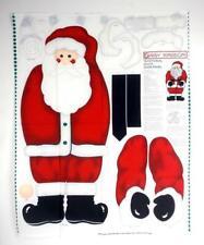 VTG 90's Daisy Kingdom Traditional Santa XL 3D Door Panel Quilting Fabric Panel