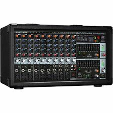 Behringer PMP2000D - 2000W 14-Channel Powered Mixer with KLARK TEKNIK FX