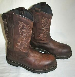 Irish Setter Ramsey Wellington Aluminum Steel Toe Cowboy Work Boots Mens Size 10