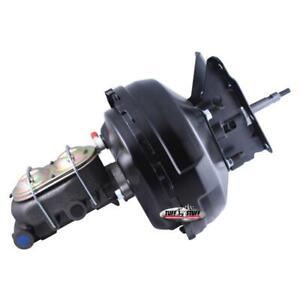 """Tuff Stuff Brake Booster/Master Cylinder Set 2132NB; Black 11"""" Dual Diaphragm"""