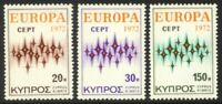 Cyprus #380-382 MNH CV$5.95