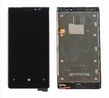 For Nokia Lumia 920 LCD & Touch Screen Digitizer BLACK Frame & Buttons