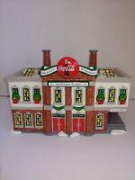 Department 56: Coca Cola Bottling Plant- The Original Snow Village