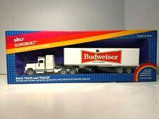 Siku  Eurobuilr   Mack Truck & Budweiser Trailer Van Die-cast 1/55