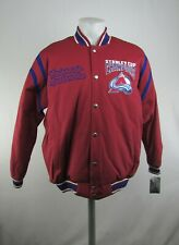 Colorado Avalanche NHL G-III Men's Stanley Cup Champions Embroidered Snap Jacket