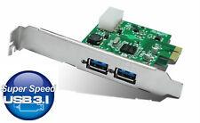 interne Schnittstellen Karte USB 3.1 PCI Express 2x USB 3.1 Port bis zu 10Gbit/s