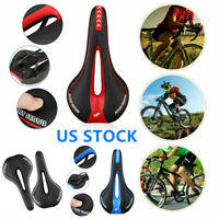 Men Professional Noseless Saddle Breathable Mountain Bicycle Seat Memory Padded