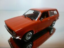 MINICHAMPS OPEL KADETT C 1973-1979 - RED 1:43 - EXCELLENT CONDITION - 9