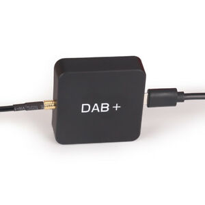 Digital Radio DAB+ Box Amplified MCX Antenna for Android 8.1/9.0/10 GPS Stereos
