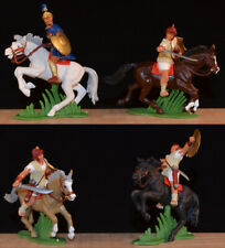 DSG Mounted Carthaginian Cavalry - 54mm Painted Plastic Toy Soldiers