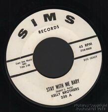 (Hear) 1966 Kelly Brothers Northern Soul DJ 45 (Stay With Me Baby)