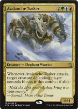 Avalanche Tusker from Magic the Gathering Khans of Tarkir Set NM-Mint Condition