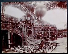 Photo Exposition Universelle - Grand Palais 1900 - Grand Tirage citrate 40x50 -