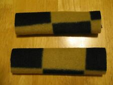 Set of 2 Soft & Secure CPAP Comfort Pads Keeps Mask Straps Away Tan Black Check