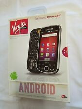 Samsung Intercept SPH-M910 Gray Virgin Mobile Prepaid Smartphone Cellphone