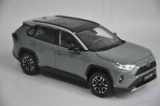 Toyota RAV4 2020 car model in scale 1:18 Titanium ash