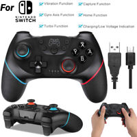 Bluetooth Game Controller 6-Axis Gyro Wireless Gamepad for Nintendo Switch