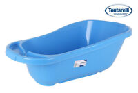 BLUE Babies Baby Bath Tub Lattsam Plastic Infant Kids Children
