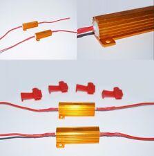 2 x 6OHM 50W Load Resistor Signal/Fog/Running LED Bulb Error/Hyper Flash Fix A