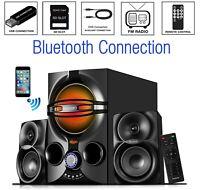 Boytone BT-324F, Powerful Wireless Bluetooth Home Speaker System 40 W,FM Radio