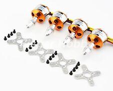 4PCS 2212 1000KV Brushless Outrunner Motor For Airplane X525 Quadcopter