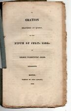 1824 Speech at Quincy, Massachusetts on American Independence, Revolutionary War