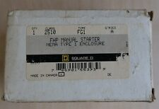 Square D 2510fg1 Fhp Manual Motor Starter Toggle Switch Nib