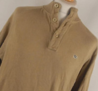 Wilson Brown Cotton Mens Sweatshirt Size S