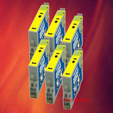 6 T044420 T0444 YELLOW INK FOR EPSON C84WN C66 CX6600