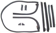 1967 Ford Fairlane 500, XL, GT convertible top roof rail weatherstrip seal set