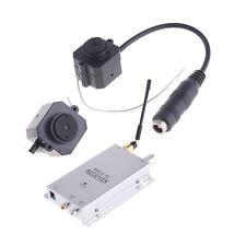 1.2Ghz Mini Wireless CMOS Surveillance SPY Camera Monitor With Radio AV Receiver