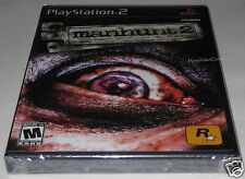 Manhunt 2 (Sony PlayStation 2, 2007). Brand NEW!!