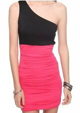 Venus Twofer Colorblock Fitted Ruched Dress