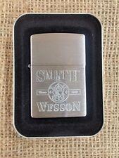 SMITH & WESSON zippo NIB since 1852 Rare 2000