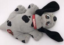 "Pound Puppies Plush Dog Vintage Tonka Grey Black Spots Interactive 15"" Plush"