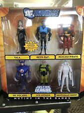 DC Universe Justice League Unlimited JLU 6 Pack Mutiny in Ranks - Tala Ghost